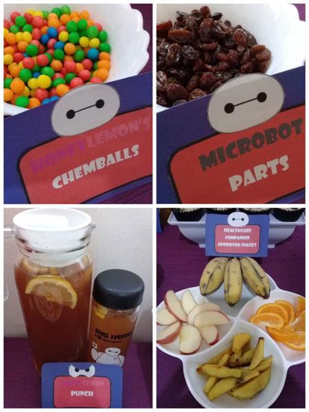 Big Hero 6 themed kids birthday party
