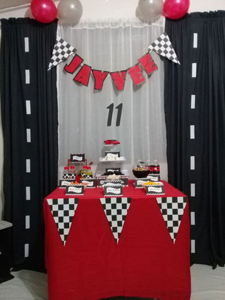 Cars themed kids birthday party