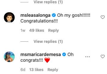 Lea Salonga, Marical De Mesa congratulate Nikki Gil