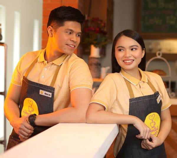 Victor Anastasio and Ayra Mariano in Heartful Cafe