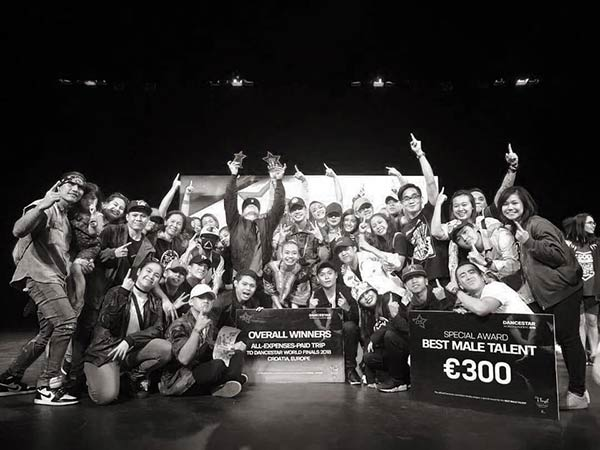 DJ Loonyo dance group Rock Well wins in Croatia