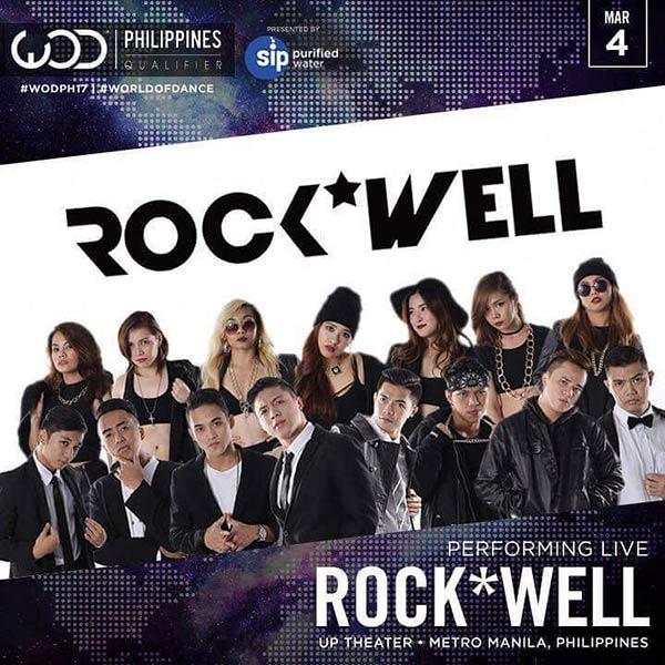 DJ Loonyo dance group Rock Well