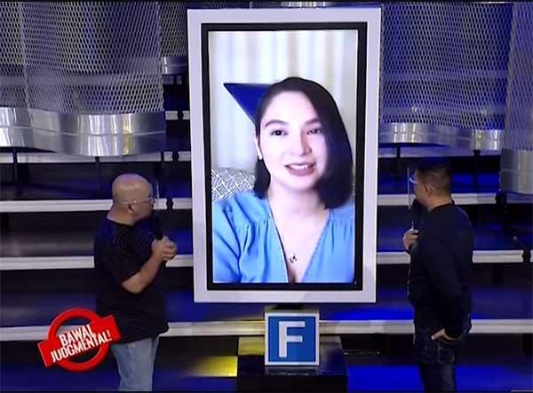 Ryza Cenon on Eat Bulaga Bawal Judgmental