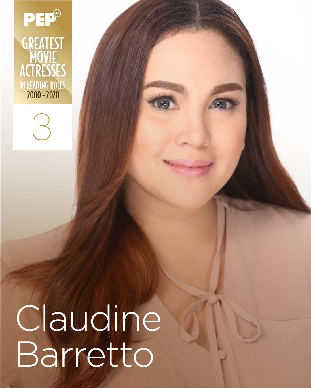 Claudine Barretto, 15 Greatest Actresses