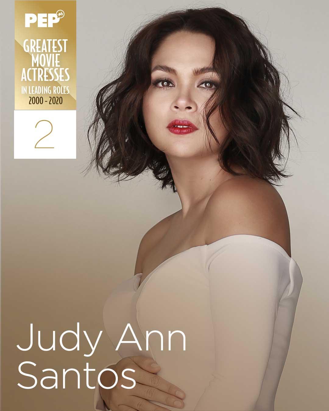 Judy Ann Santos, 15 Greatest Actresses