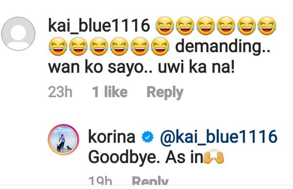 Korina sanchez demanding applicant