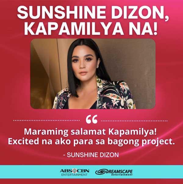 Sunshine Dizon as Kapamilya