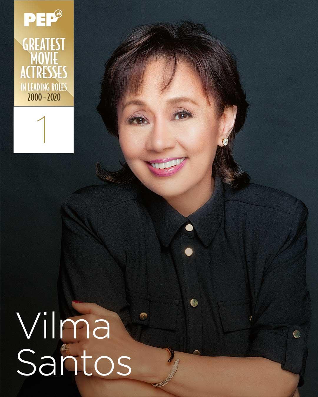 Vilma Santos, 15 Greatest Actresses