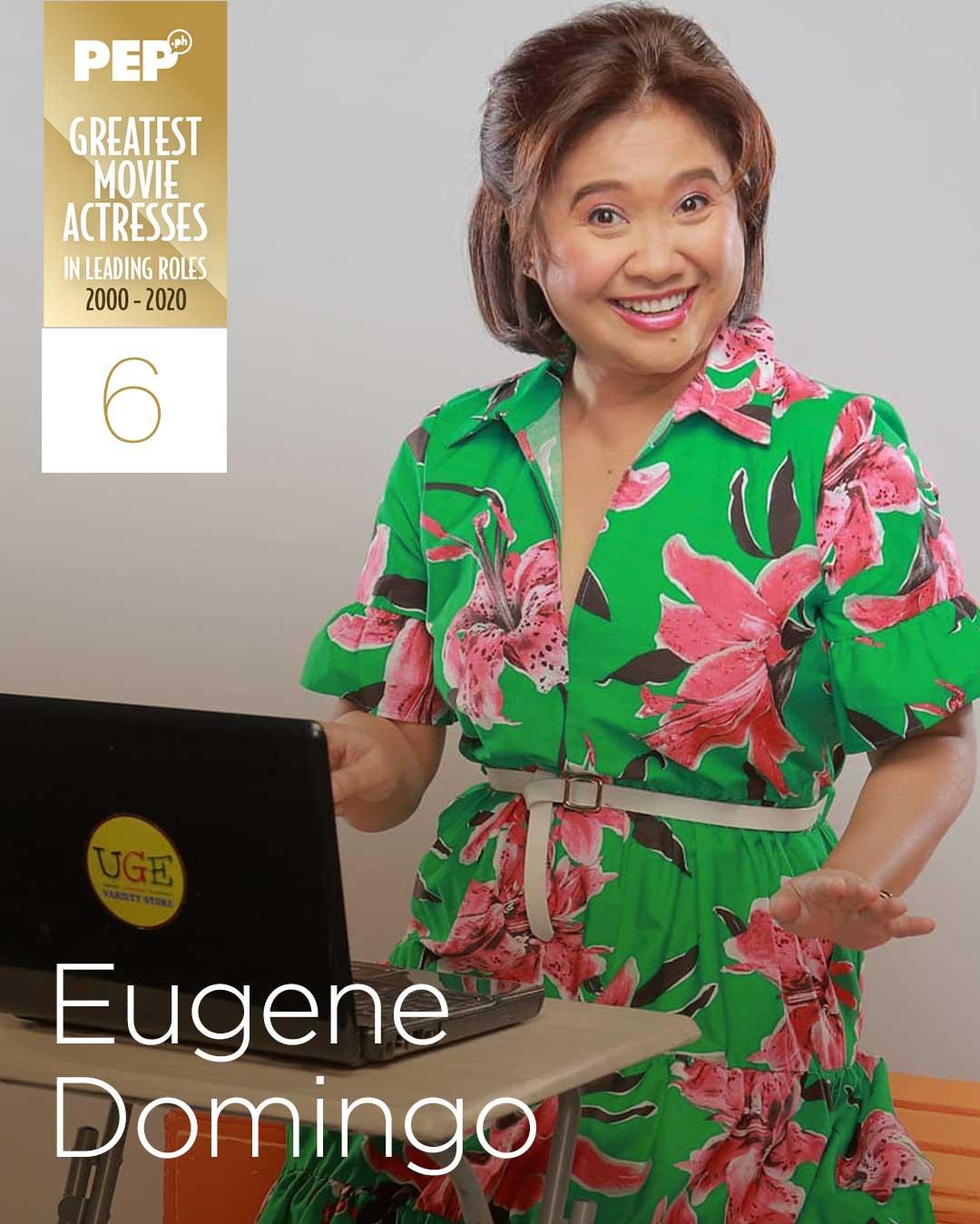 Eugene Domingo, 15 Greatest Movie Actresses