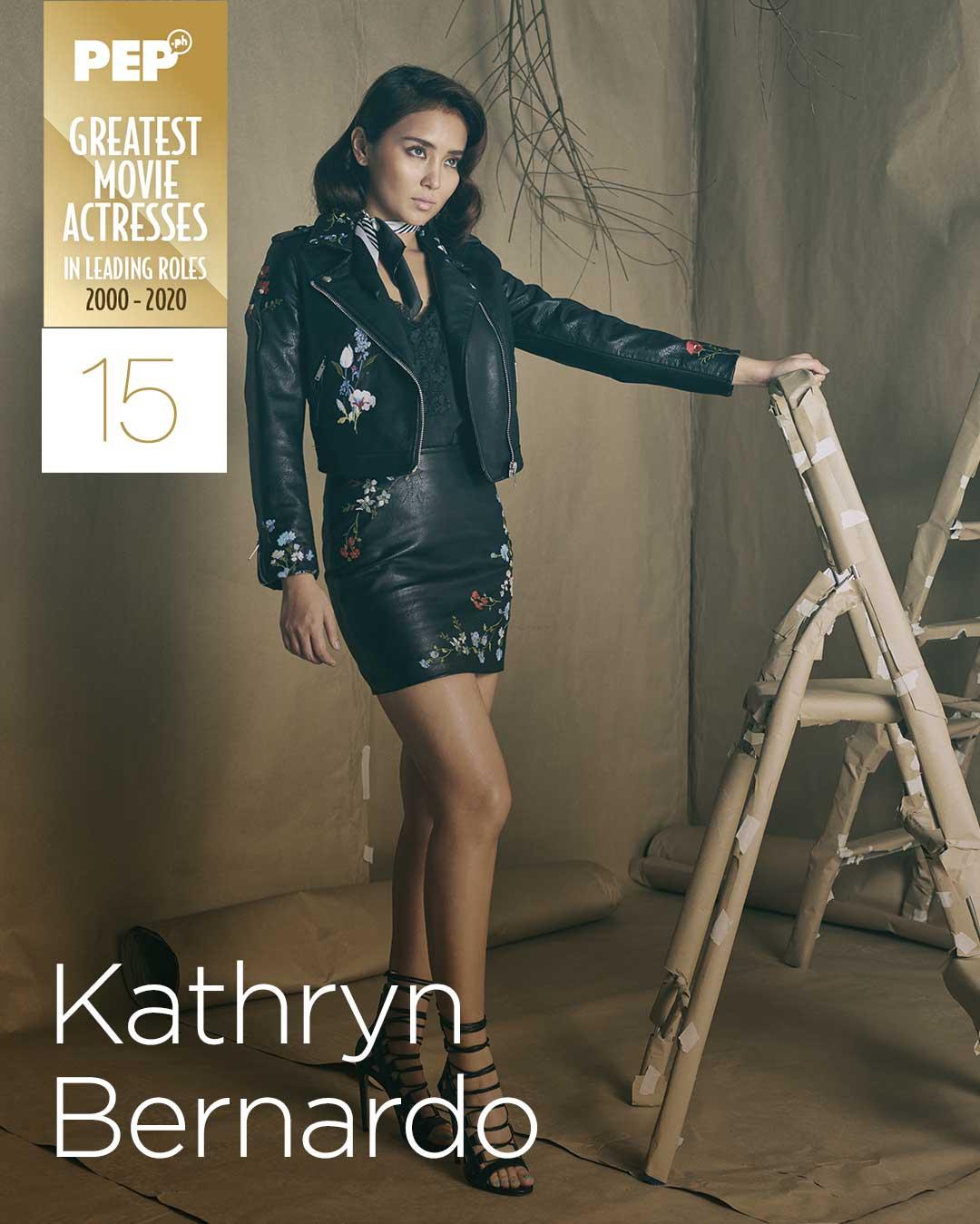 Kathryn Bernardo, 15 Greatest Movie Actresses