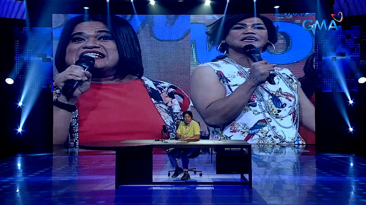 Le Chazz and Kim Idol in Wowowin