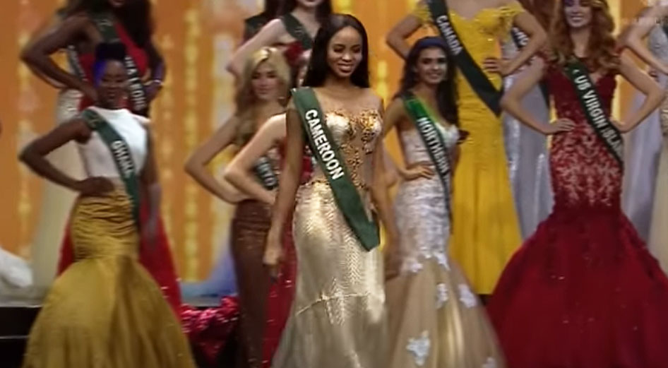 Angèle Kossinda in Miss Earth 2017