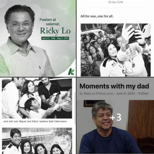 Kiko Pangilinan pays tribute to Ricky Lo