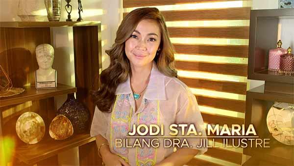 The Broken Marriage Vow cast: Jodi Sta Maria as Dra Jill Ilustre in
