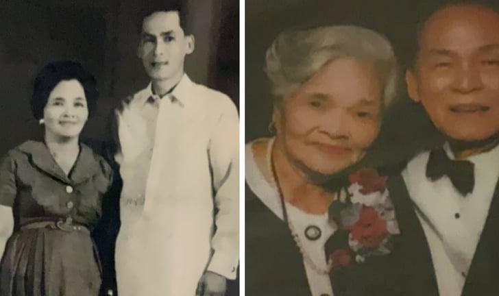 Pedro Barrameda and Rosario Almeda Marfil.