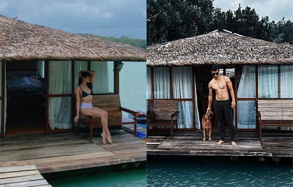 Jane Oineza and RK Bagatsing vacation photos