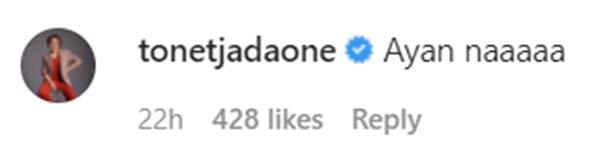 IG Comment: Tonet Jadaone reacts to Jane Oineza sweet post