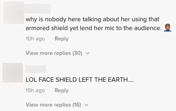 FB comments: netizens react on Moira dela Torre giant face shield