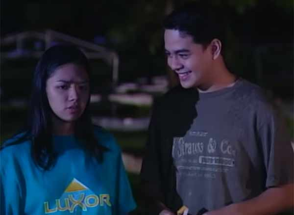 John Lloyd Cruz and Danica Sotto in GMA-7 Kakabakaba