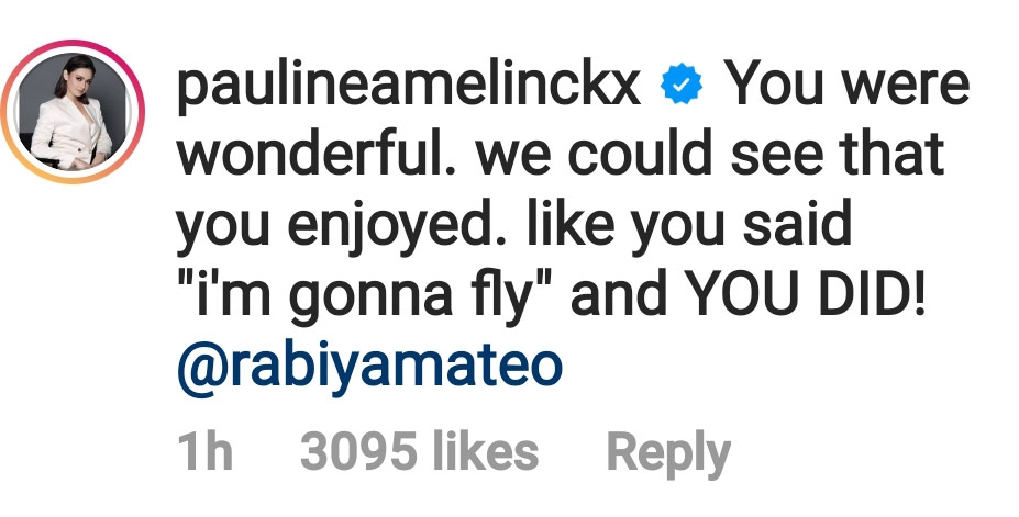 Miss Universe Philippines 2020 Pauline Amelinckx supports Rabiya Mateo