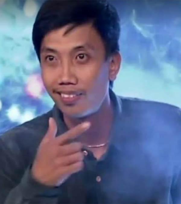 Mark Joven Olvido in Pilipinas Got Talent