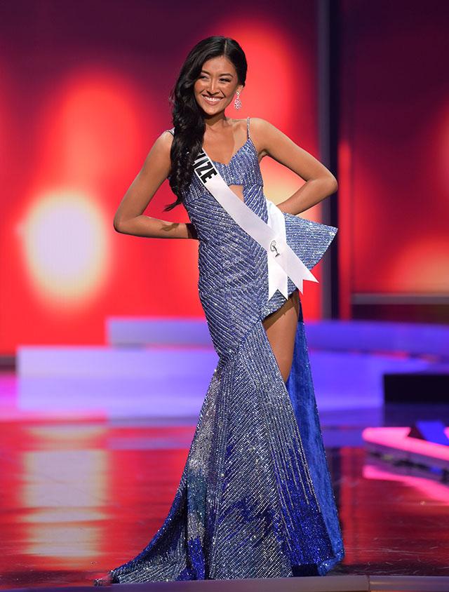 Miss Belize Iris Salguero