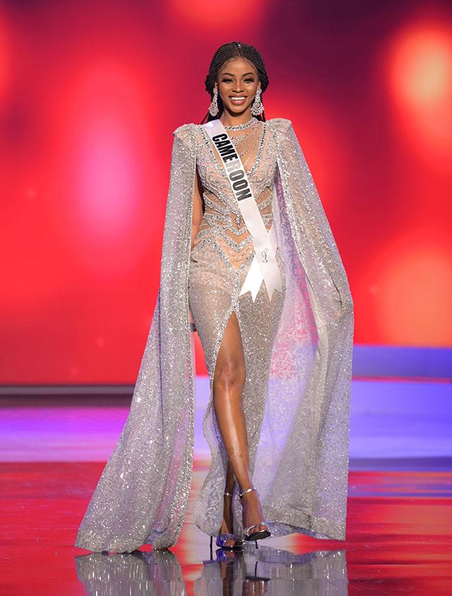 Miss Cameroon Kossinda Angele
