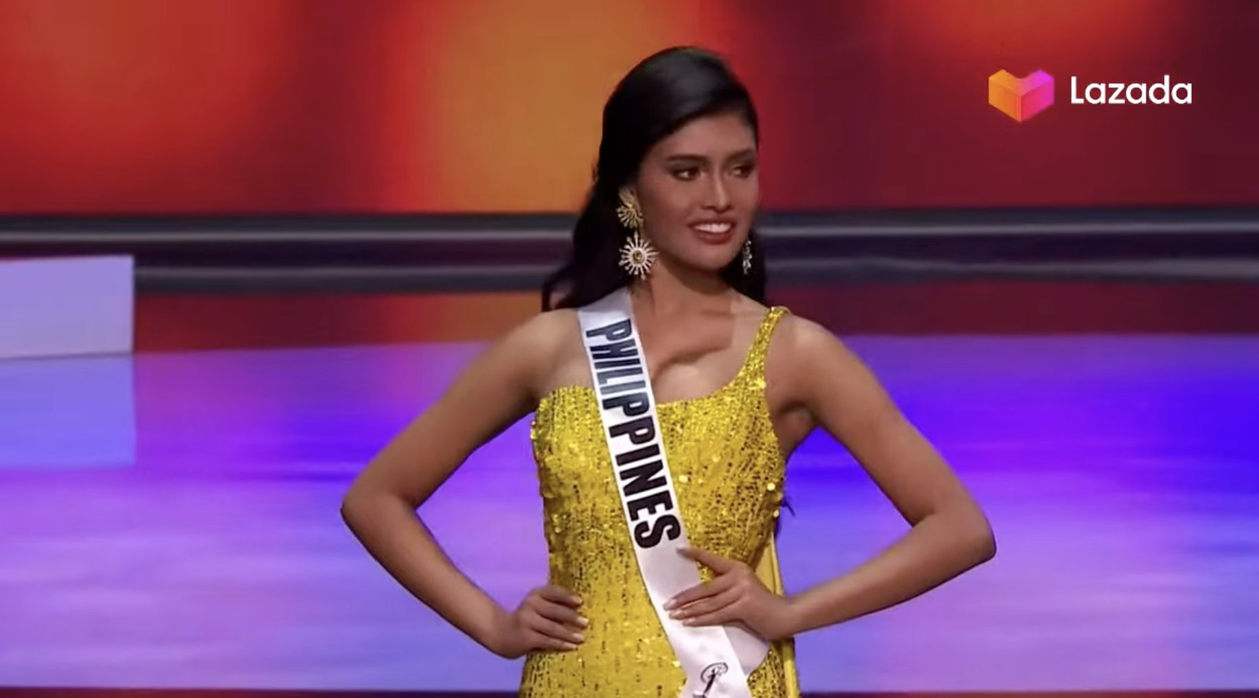 Rabiya Mateo preliminaries: evening gown competition