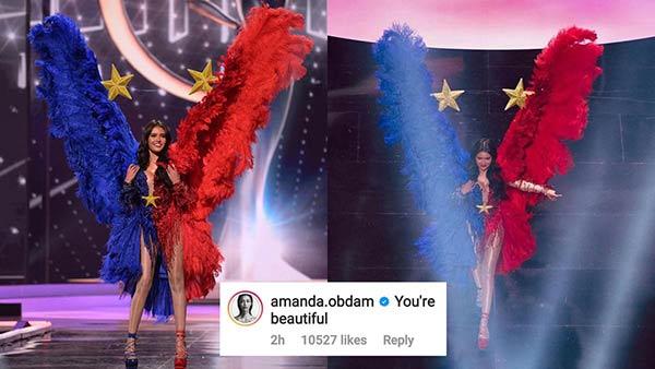 Amanda Obdam comments on Rabiya Mateo national costume
