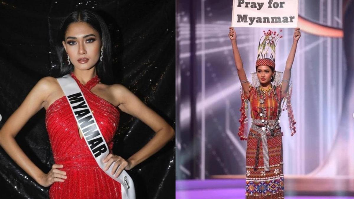 Miss Universe Myanmar 2020 Thuzar Wint Lwin