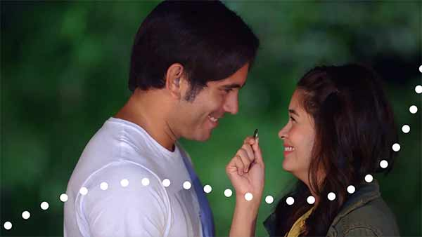 Gerald Anderson and Yam Concepcion on TV5 station ID