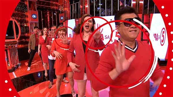 Sing Galing on TV5 station ID