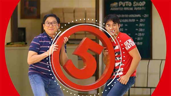 Herbert Bautista, McCoy de Leon on TV5 station ID