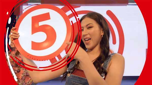 Alex Gonzaga on TV5 station ID