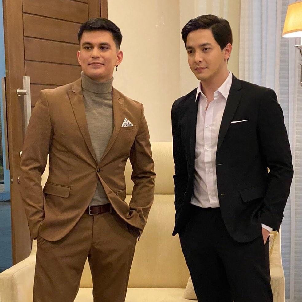 Tom Rodriguez and Alden Richards in The World Between Us