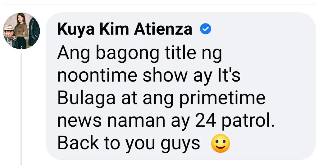 Kim Atienza viral comment
