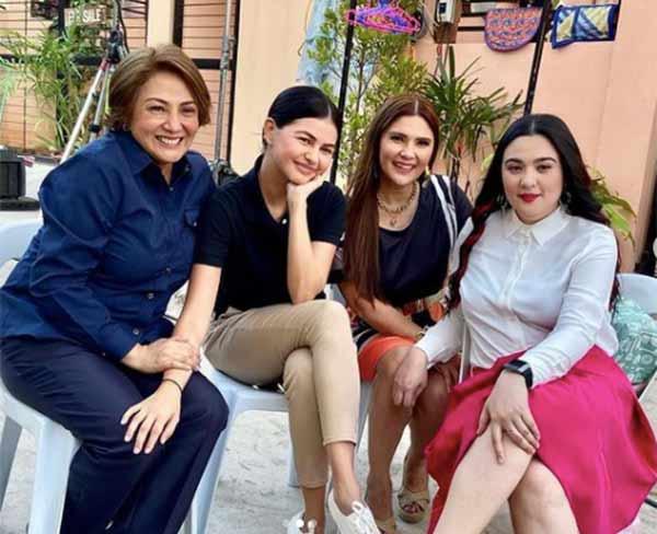 Marry Me, Marry You cast: Cherry Pie Picache, Sunshine Dizon, Janine Gutierrez, Vina Morales