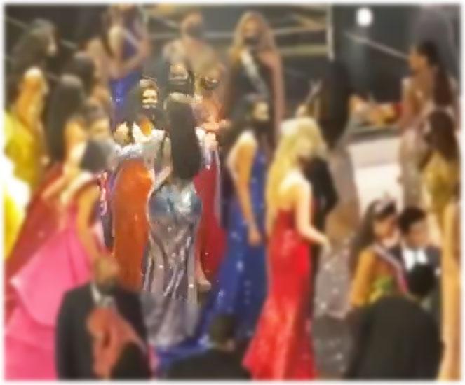 Rabiya Mateo, Miss Thailand Amanda Obdam hugging video