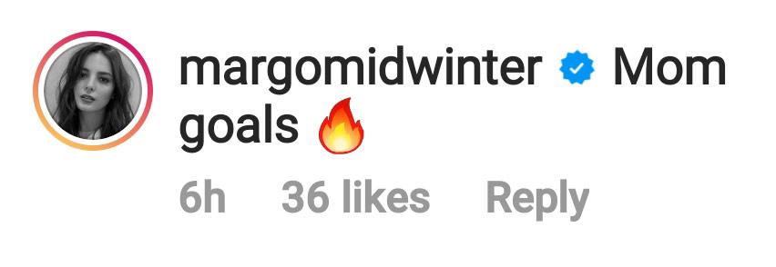 IG Comment: Margo Midwinter reacts to Ellen Adarna mombod photo