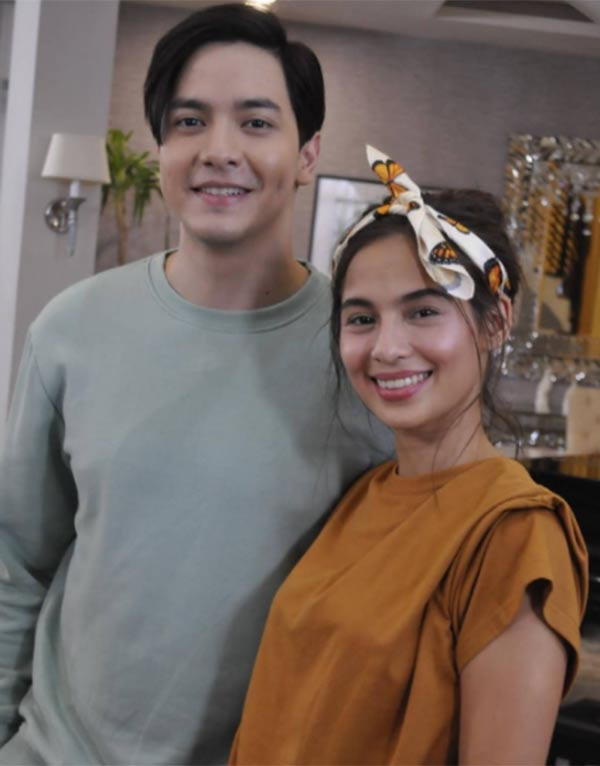 Alden Richards and Jasmine Curtis Smith for The World Between Us