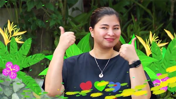 Angel Locsin in ABS-CBN Summer Station ID 2021