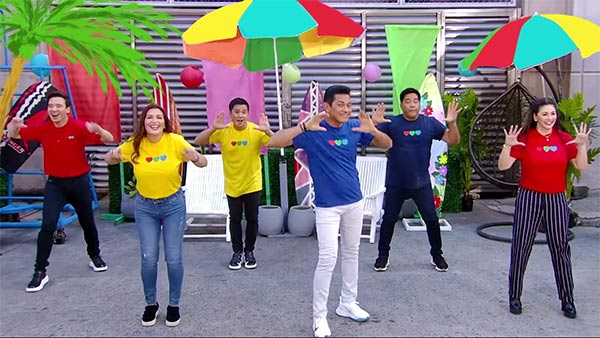 ASAP Natin To singers in ABS-CBN Summer Station ID 2021