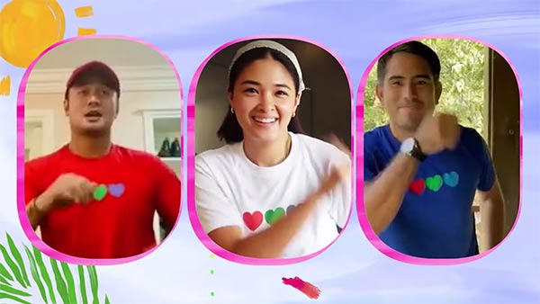 Init Sa Magdamag lead stars in ABS-CBN Summer Station ID 2021