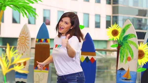 Judy Ann Santos in ABS-CBN Summer Station ID 2021