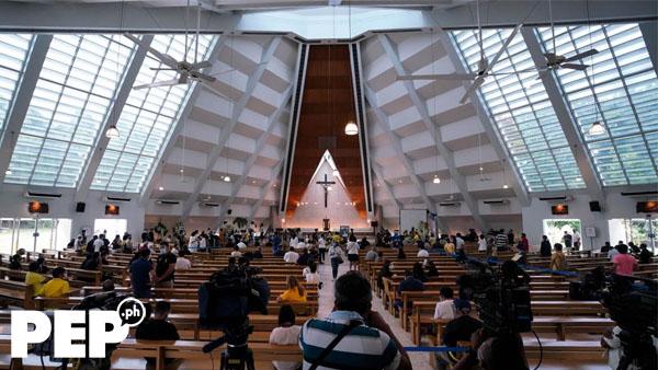 Church of the Gesu, PNoy public viewing