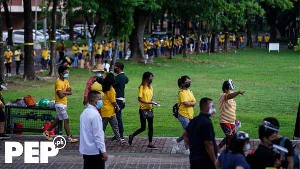PNoy supporters