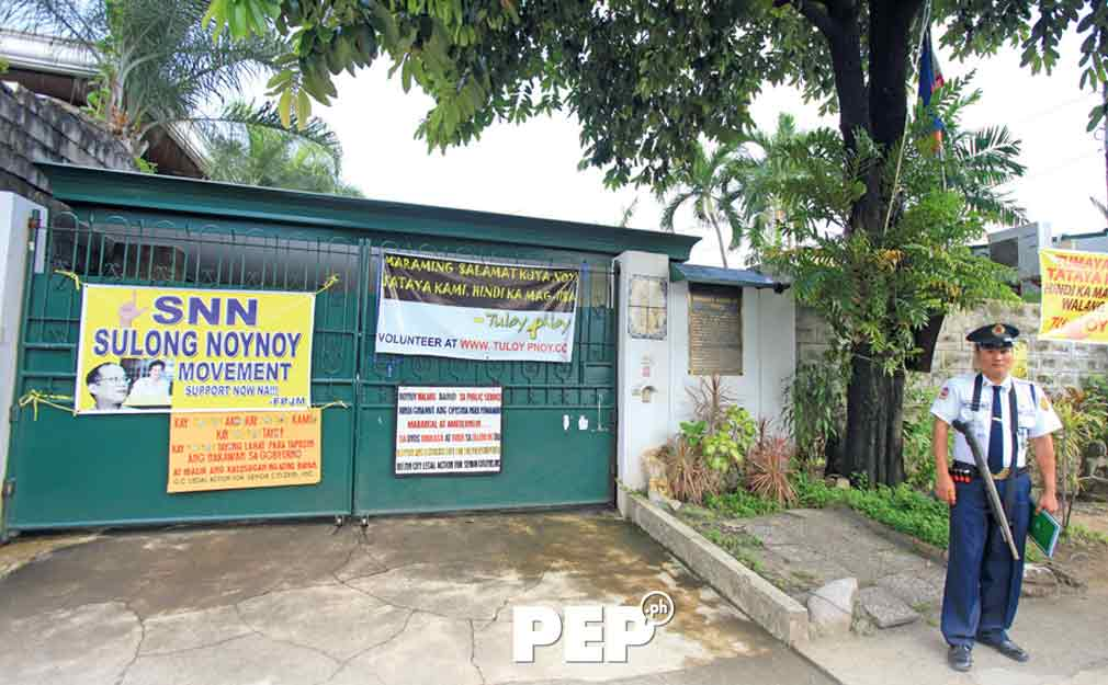 Noynoy Aquino house, PNoy house, Times Street