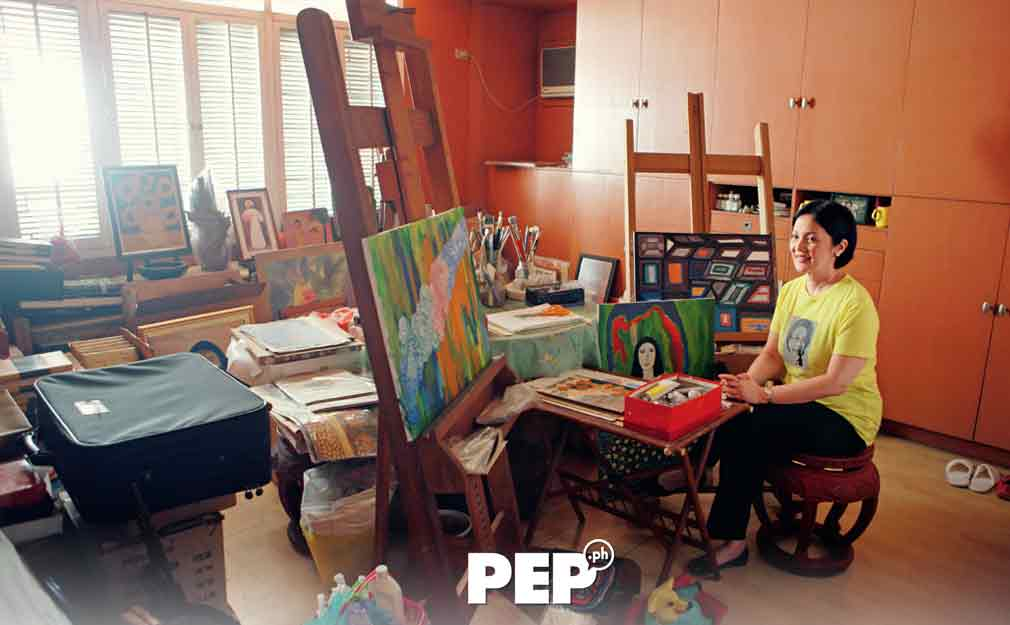Cory painting room