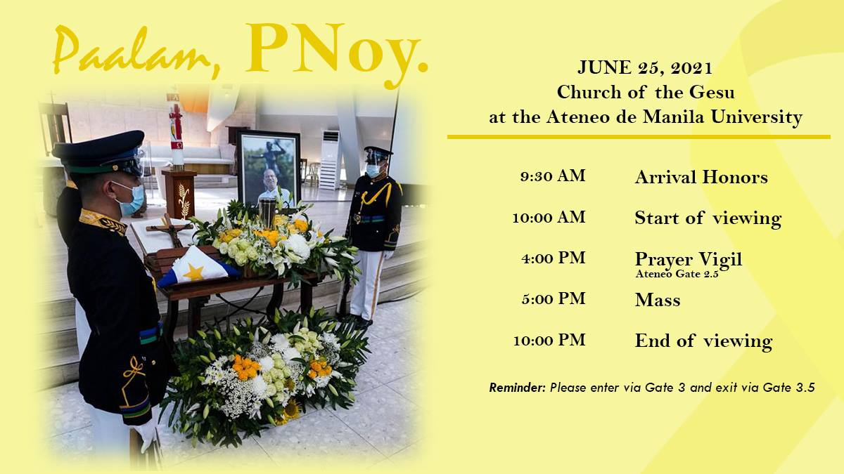 PNoy public viewing