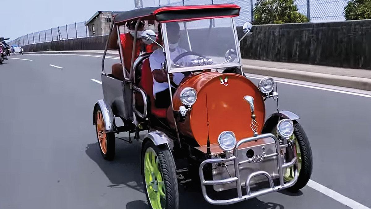 drum car